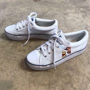 Disney Pooh & Tigger Canvas Platform Sneaker 90s